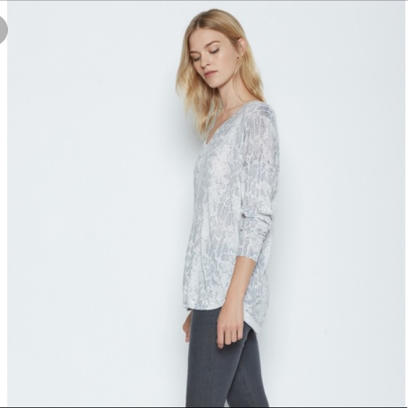 4826654fb01b Joie Chyanne Snake Printed Sweater in Vapor Grey. NWT. Joie.  M_5a6243905512fd118dd3ab1d. M_5a624392331627106a90fc4c.  M_5a624391331627708490fc48